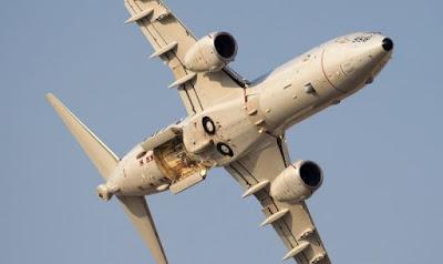 Poseido P-8 jet