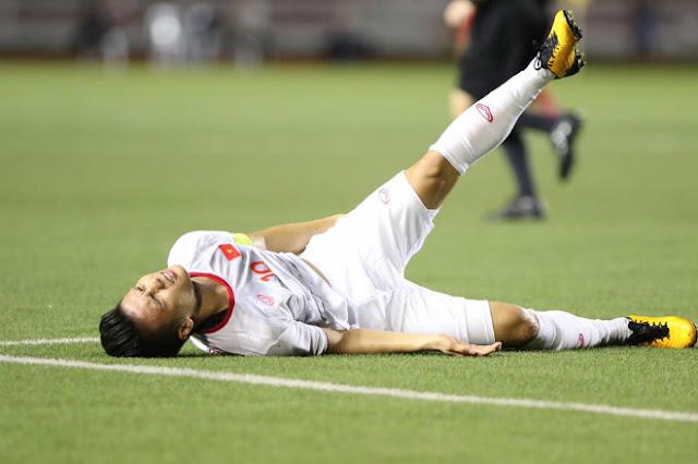 Quang Hải chấn thương nghiêm trọng cỡ nào, có ra sân đấu Thái Lan?