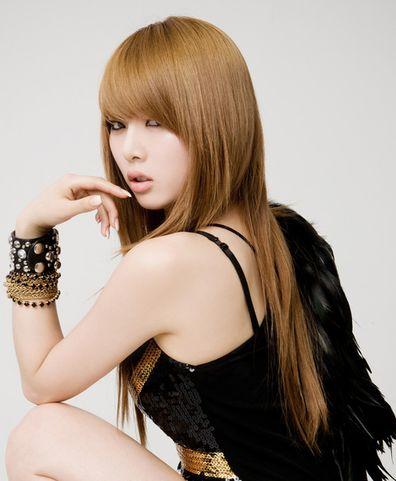 Hyuna Kim Hyun Ah 4 Minute Hair Styles Asian Hairstyles
