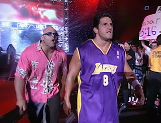 WCW - The Great American Bash 2000 - Konnan and Disco Inferno of The Filthy Animals