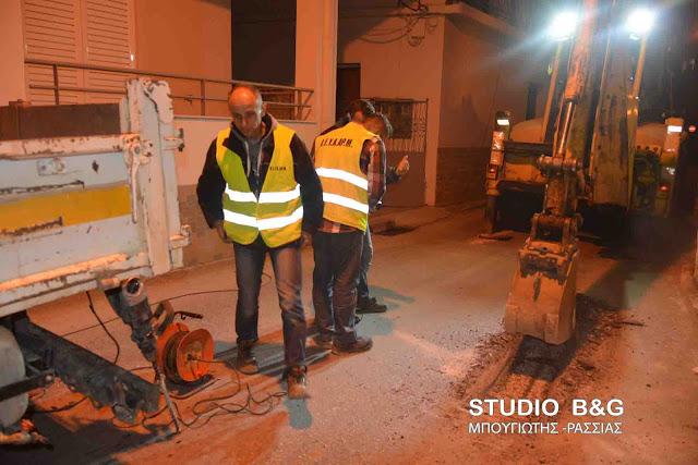 Έσπασε αγωγός ύδρευσης της ΔΕΥΑΡΜ στο Άργος - Έκλεισε δρόμος