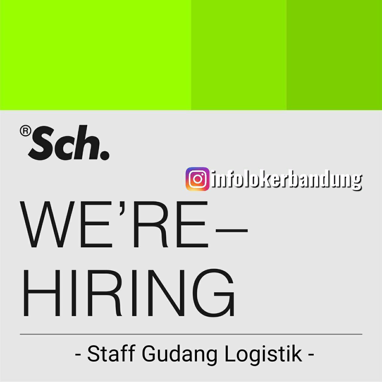 Lowongan Kerja Staff Gudang Logistik Bandung September 2019