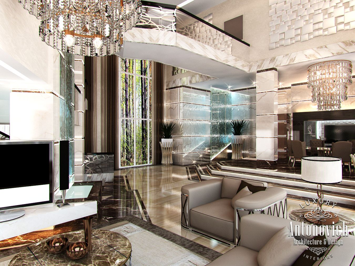 LUXURY ANTONOVICH DESIGN UAE Villa Design in Palm ...