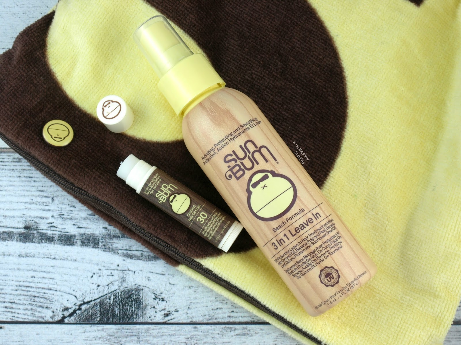 Sum Bum & Baby Bum | Sunscreen Lip Balm & 3-in-1 Leave In Hair Treatment