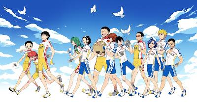 Review dan Kumpulan Gambar Yowamushi Pedal New Generation