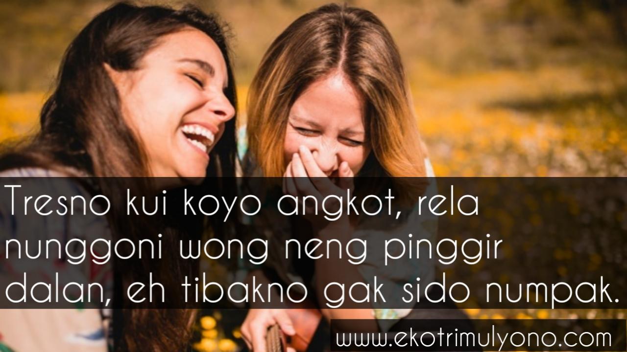Kata kata cinta bahasa jawa lucu