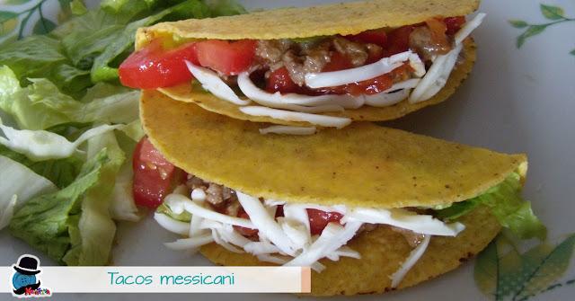 ricetta tacos messicani con carne