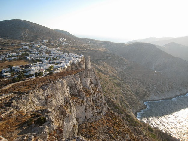 32. Folegandros is one of the most enchanting places on Earth. (The main village on the island of Folegandros built along a cliff to stave off pirates.) - 49 Reasons To Love Hellas (Greece)