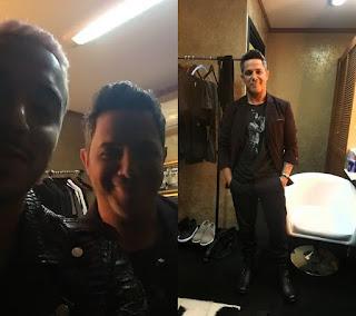 Alejandro Sanz y J Balvin en Las Audiones A Ciegas de La Voz