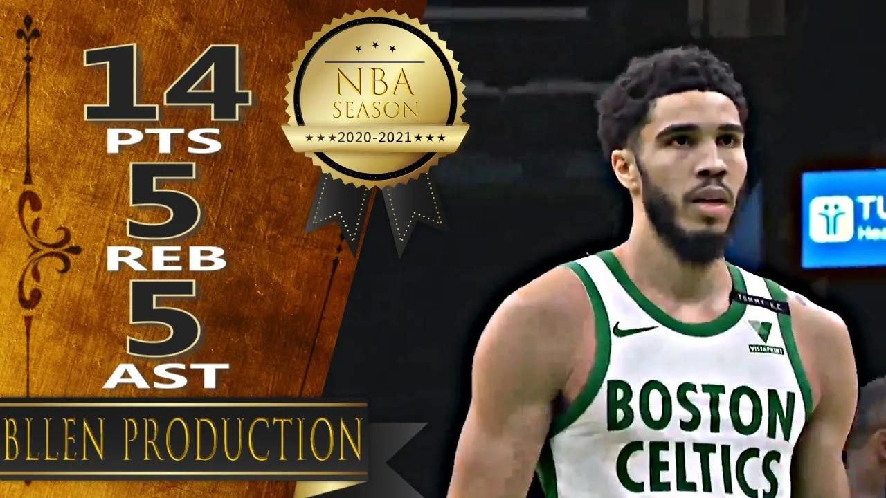 Jayson Tatum 14pts 5reb 5ast vs LAC   March 2, 2021   2020-21 NBA Season