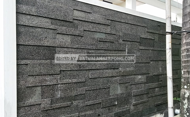batu basalto hitam