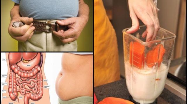 Desinflama tu vientre, limpia tu colon y bajar de peso en 1 semana con este batido