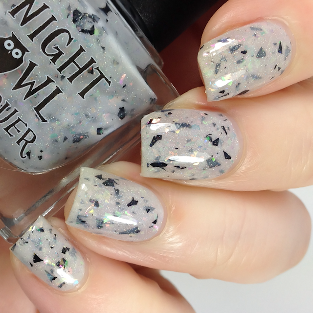 Night Owl Lacquer-Hangin' Tough
