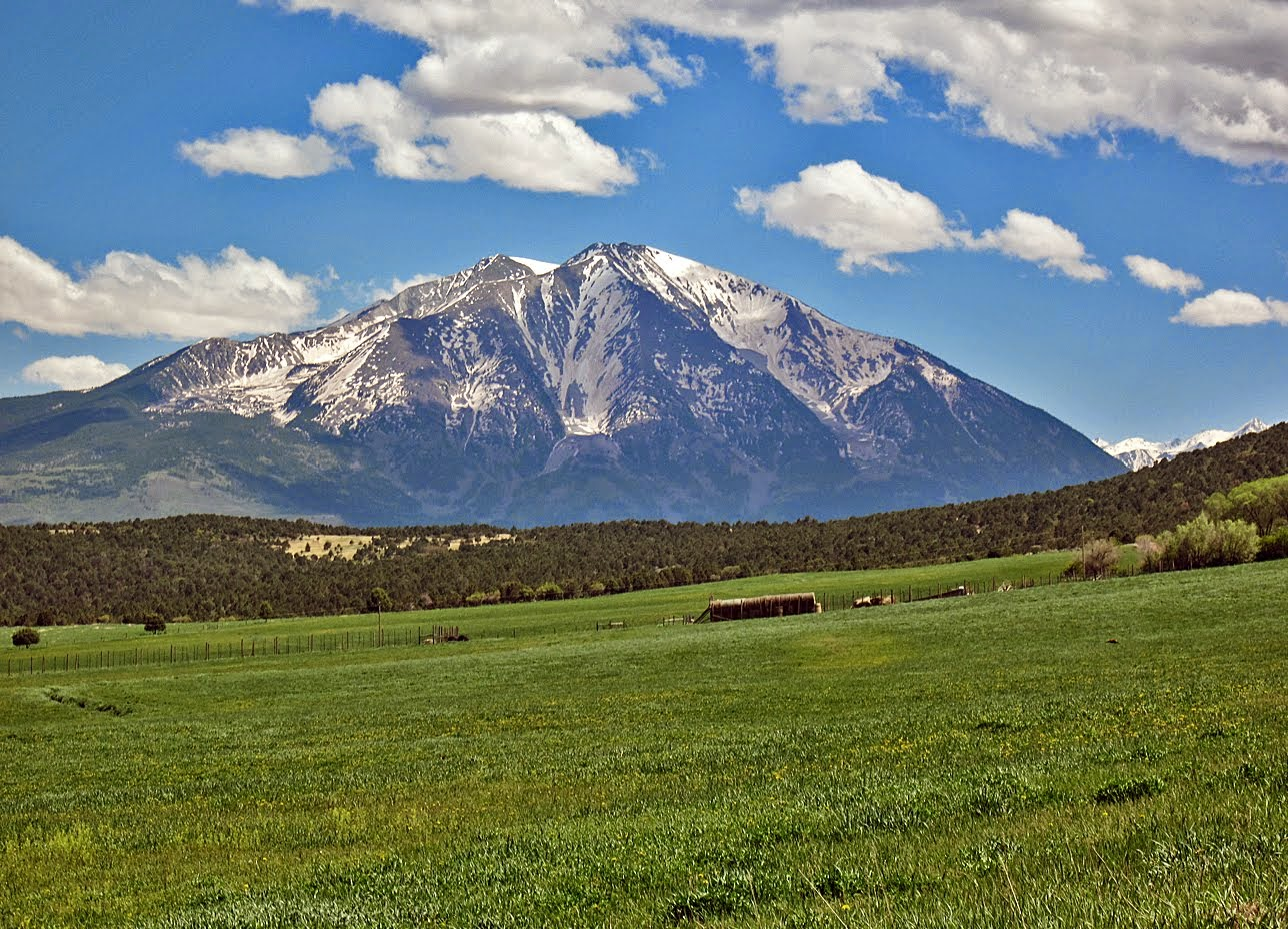Mount Sopris from the north