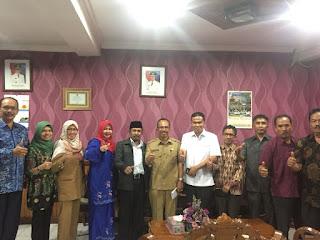 Ketu dan Wakil Ketua DPRD Agam Pimpin Kunjungan Kerja Komisi I dan II Ke Dinas Terkait