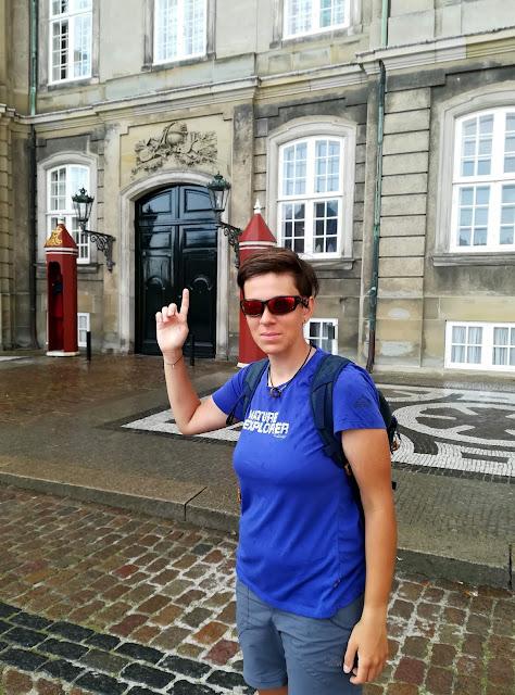 Kopenhaga - pałac królewski