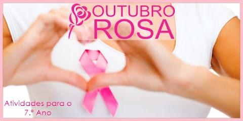 Campanha Outubro Rosa conta o câncer de mama - Língua Portuguesa para o 7.º Ano