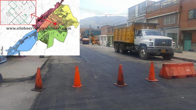 Cierre de calle octava y desvíos en Facatativá por obras de mejoramiento vial