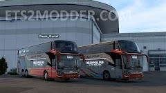 Laksana SR2 XDD ETS2 1.41 Convoy Mod