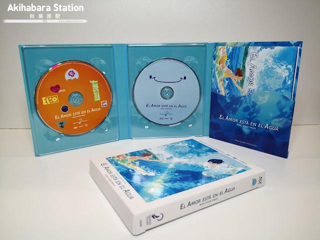 El Amor está en el Agua (Ride Your Wave) Ed. coleccionista de Selecta Vision.