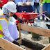 Bupati  Peletakan Batu Pertama Gedung SPKT Polres Karawang