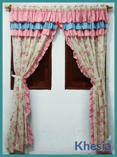 contoh gorden jendela dan pintu