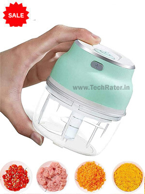 Rechargeable Vegetable Chopper  wireless Electric Food Processor