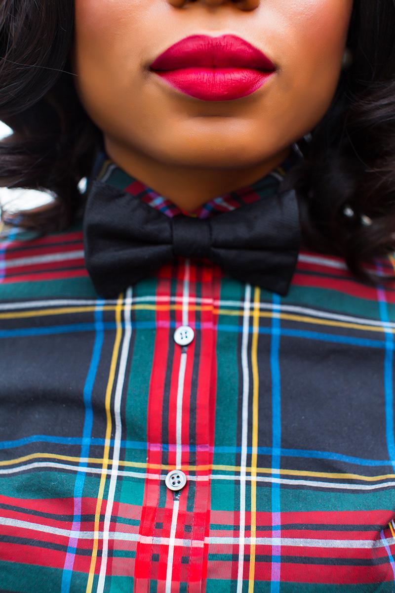 jcrew plaid shirt, www.jadore-fashion.com