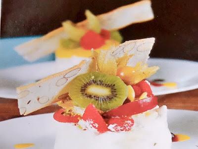 Gambar Resep Tropical Fresh Fruit Pavlova