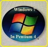 Install Windows 7 Di Pentium 4