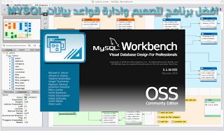 برنامج لتصميم وإدارة قواعد البيانات mysql