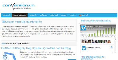 Tự học Digital Marketing qua các blog, website uy tín