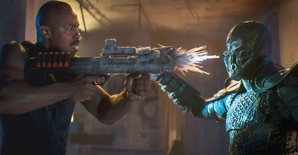 Jax Sub Zero Mortal Kombat Gun