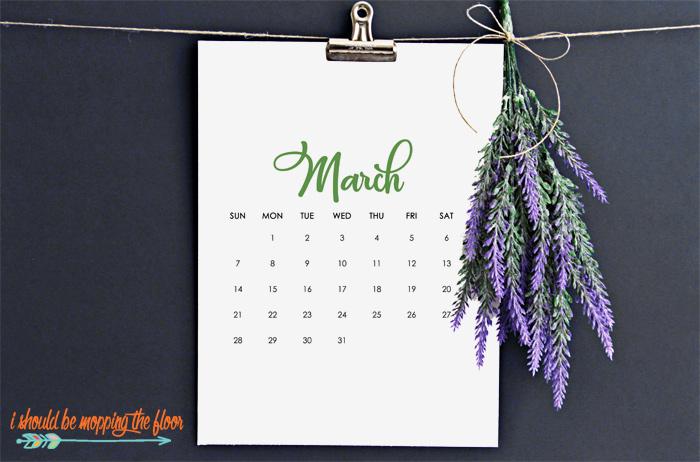 March Printable Calendars