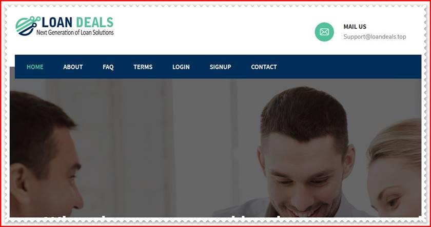 Мошеннический сайт loandeals.top – Отзывы, развод, платит или лохотрон? Мошенники