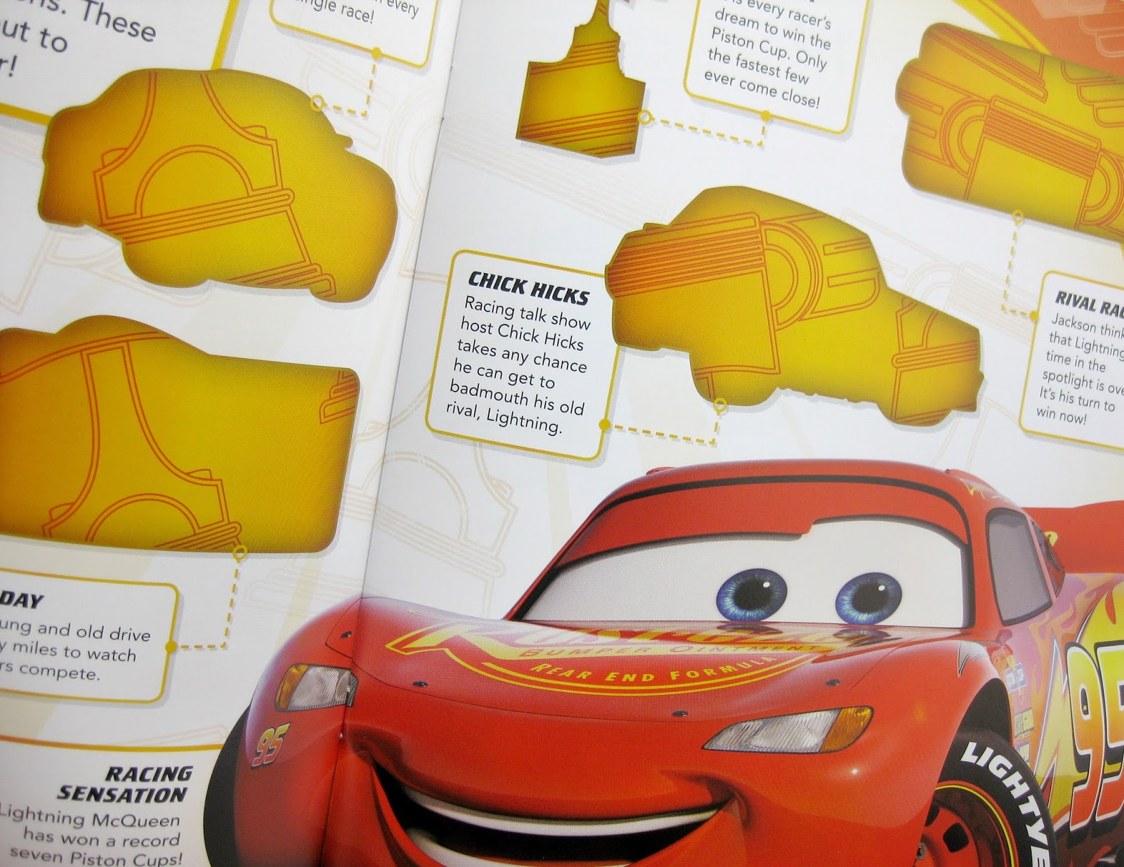 pixar Cars 3 DK Ultimate Sticker Book