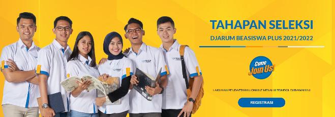 Jadwal dan Persyaratan Pendaftaran Beasiswa Djarum Tahun 2021 (Djarum Beasiswa Plus Tahun 2021)