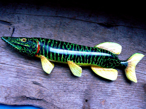 Noise on the Line: Hand Carved Fishing Lures - Interview