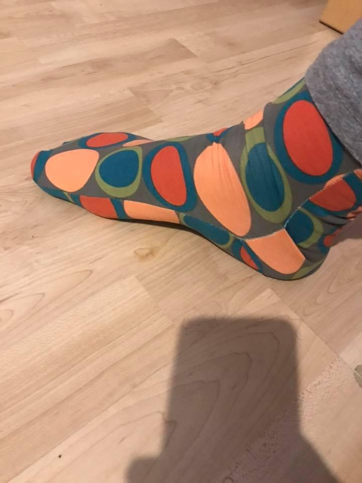 Maja zeigt was~ nähen, basteln, häkeln: Socken nähen bis zum Umfallen
