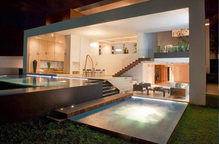 contoh2 idea ruang terbuka  nyambung dekat  kolam renang
