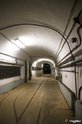 Una delle gallerie del Four a Chaux di Lembach