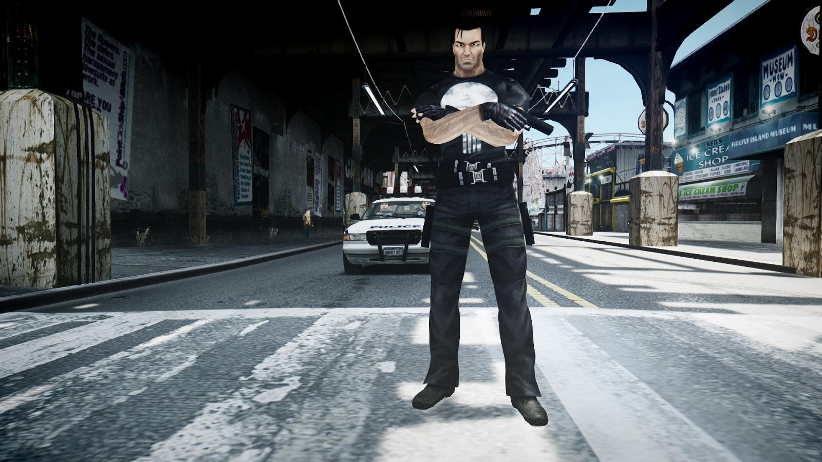 GTA 5,GTAV,GTA IV Mods and Skins: GTA 4 MOD :Punisher 2