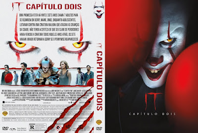 Filme It - Capítulo Dois (It - Chapter Two) DVD Capa