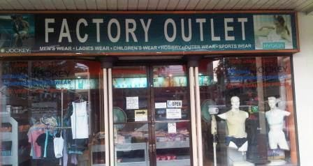 Manila Shopper: Jockey Factory Outlet Store in Paranaque