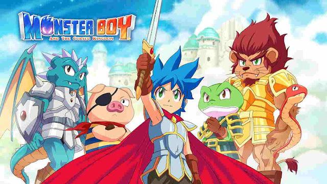Game PC Monster Boy and the Cursed Kingdom Games Akan Dirilis 25 Juli