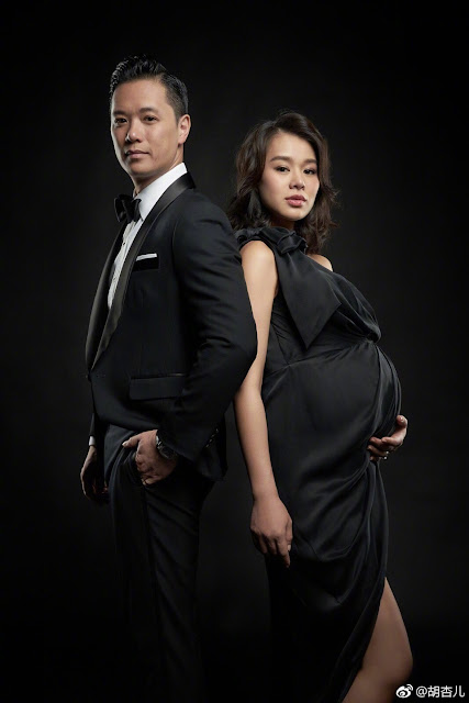 Myolie Wu gives birth