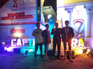 Icon Captain Cobra Superhero Lumajang Serap Antusiasme Masyarakat