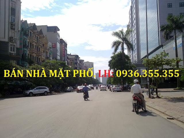 Bán nhà mặt phố Duy Tân - Cầu Giấy