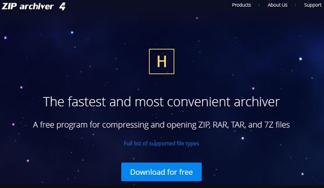 برنامج ضغط الملفات الى اصغر حجم