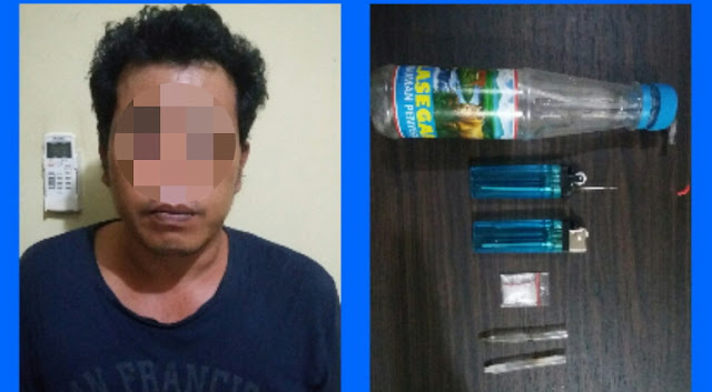 Herdin Warga Babat Toman Dibekuk Kepolisian Atas Kepemilikan Narkoba